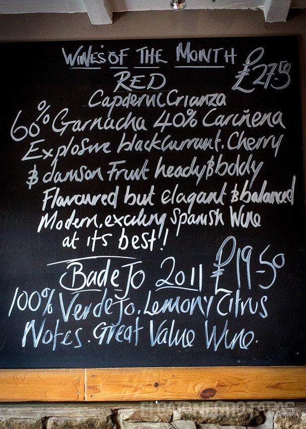 El Gato Negro wine specials 10th September 2012