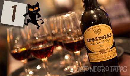 After a busy day we can start our #Advent properly… let's start the countdown to Xmas with a rather good aged sherry!
