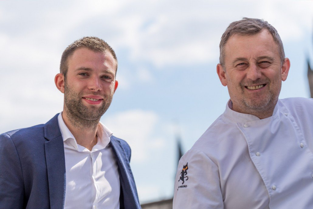 General Manager Phil Bennett and Chef Patron Simon Shaw