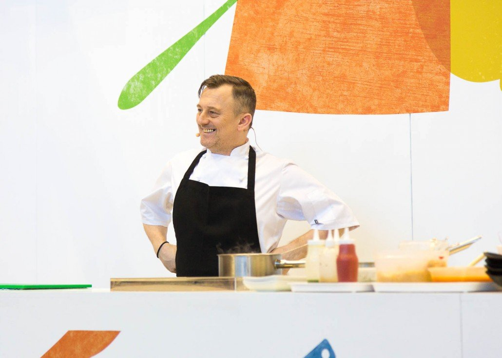 Simon Shaw at Northern Restaurant and Bar Show 2016