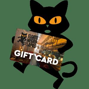 elgatonegro-cat-and-card