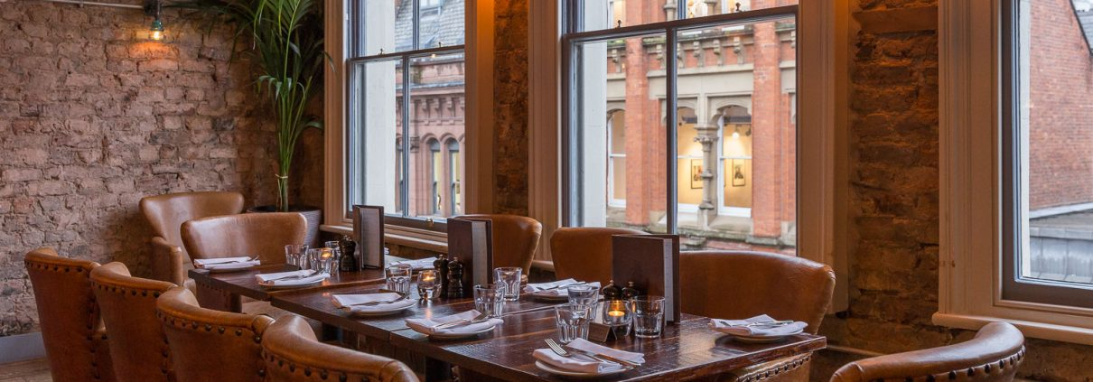 New expanded upstairs dining at El Gato Negro