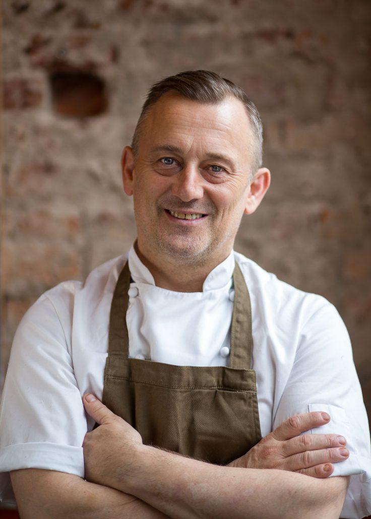 Chef Simon Shaw portrait