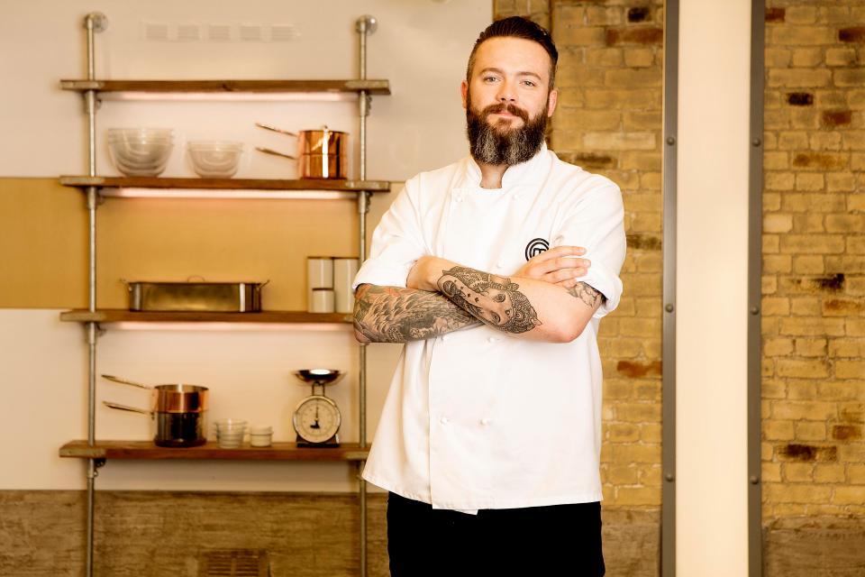 Chef Matt Healy on MasterChef: The Professionals