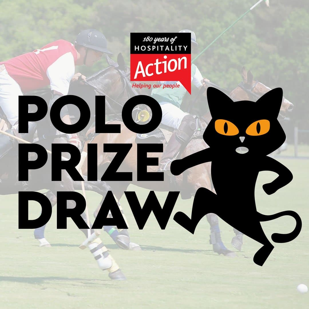 Prize draw for Hospitality Action's Charity Polo Day