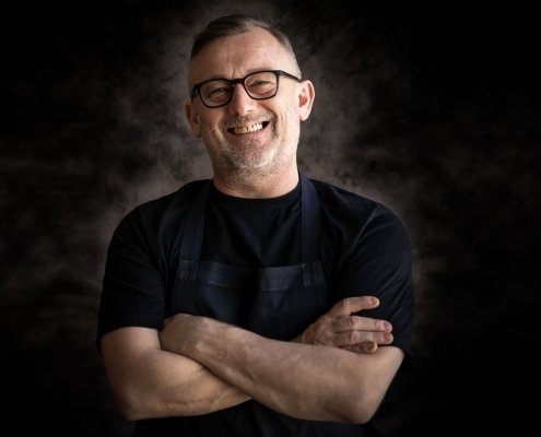 Chef patron Simon Shaw of El Gato Negro