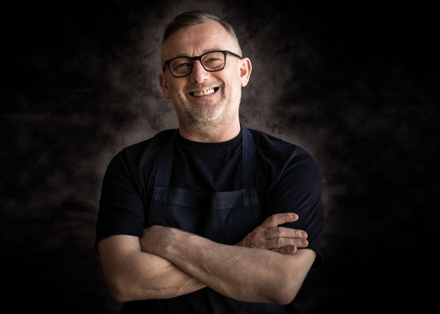 Chef patron Simon Shaw of El Gato Negro