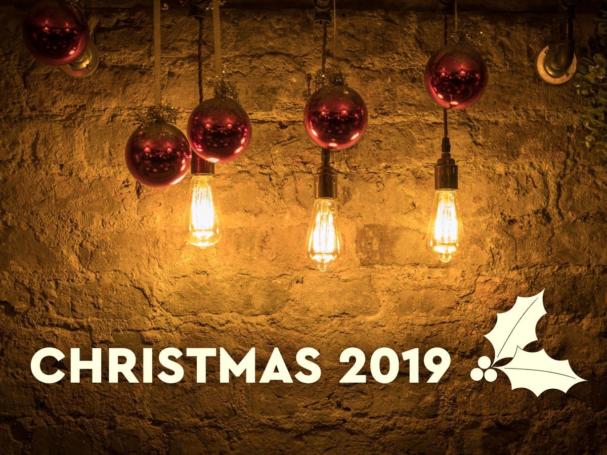 Christmas 2019 decorations at El Gato Negro