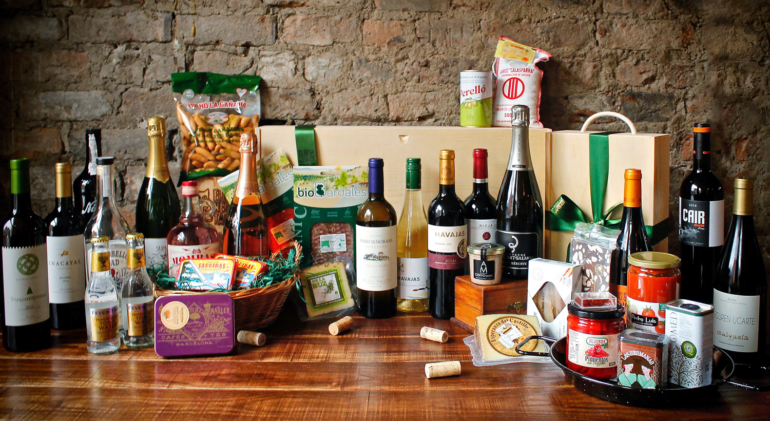 hampers and gift sets at El Gato Negro