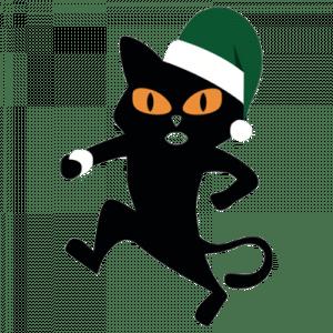El Gato Negro Christmas Cat